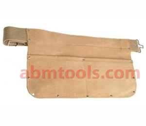 2 Pocket Split Leather Large Nail Bag