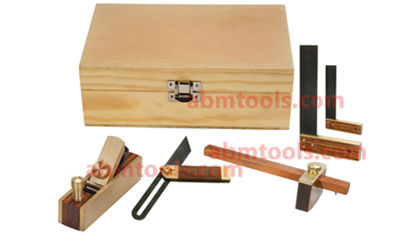 Carpenter Hobby Tool Kit Set Of 5 Pieces
