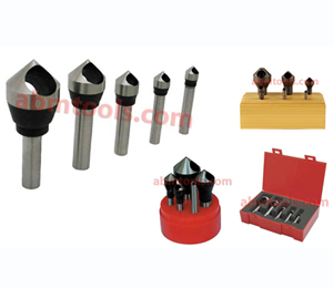 counter Sink and Deburring Tools Zero Flute