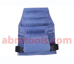 Leather Nail Bag Multipurpose