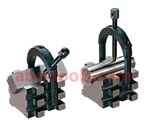 Precision v block and clamps multi side use