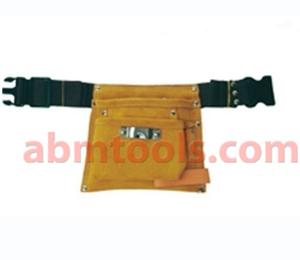 Single Pocket Leather Carpenter Apron