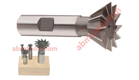 """3//8/"""" 45 Degree High Speed Steel Dovetail Cutter NEW INDIA"""