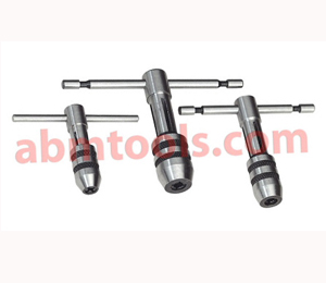 T Handle Tap Wrench Replaceable Jaws