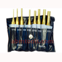 8 Pcs Brass Punch Sets